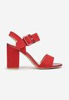 Czerwone Sandały Adophaia