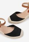 Czarne Sandały Iasiphis