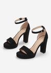 Czarne Sandały Lephypso