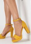 Żółte Sandały Lephypso