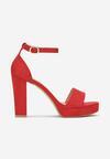 Czerwone Sandały Lephypso