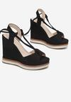 Czarne Sandały Chelsura