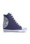 Granatowe Sneakersy Enroll