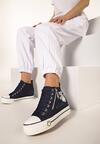Granatowe Sneakersy Baymax
