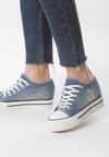 Niebieskie Sneakersy Old