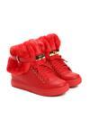 Czerwone Sneakersy Monte Casino