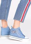 Jasnoniebieskie Sneakersy Tesera