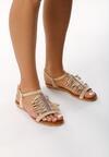 Beżowe Sandały Loiret