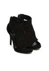 Czarne Sandały Big Step