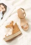 Szampańskie Sandały Beastly