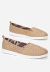 Beżowe Slip On Show Love