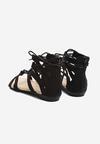 Czarne Sandały Something Crazy