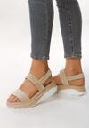 Beżowe Sandały Unrevealeds