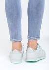 Szaro-Miętowe Buty Sportowe Frame