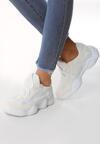 Białe Sneakersy Clear Off