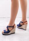 Niebieskie Sandały Pushover