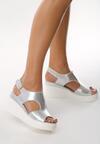 Srebrne Sandały Obtainable