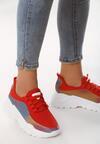 Czerwone Sneakersy Prideful