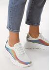 Białe Sneakersy Prideful