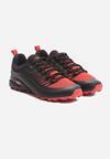 Czarno-Czerwone Buty Sportowe Biotic
