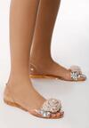Beżowe Sandały Dehydrogenate