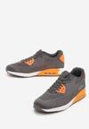 Szaro-Pomarańczowe Buty Sportowe Me