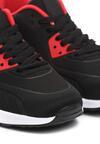 Czarno-Czerwone Buty Sportowe Me