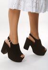 Czarne Sandały Traditionally