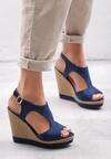 Niebieskie Sandały Experimentation