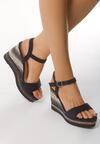 Granatowe Sandały Unimagined