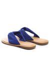 Niebieskie Japonki Decoupage