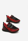 Czarno-Czerwone Buty Sportowe Egad