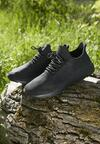 Czarne Buty Sportowe Tusle