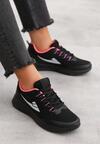 Czarno-Różowe Buty Sportowe Wallington