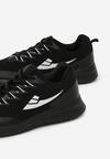 Czarne Buty Sportowe Wallington