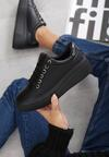 Czarne Sneakersy Fainéant