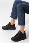 Czarne Sneakersy Cannet