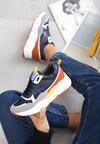 Granatowe Sneakersy Ajaccio