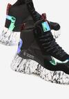 Czarne Sneakersy Quimper