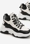 Biało-Czarne Sneakersy Nord