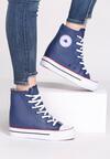 Granatowe Sneakersy Yvonne