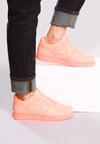 Pomarańczowe Neonowe Buty Sportowe Trini