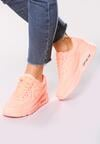 Pomarańczowe Neonowe Buty Sportowe Classic Nilda