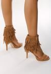 Beżowe Sandały Nair