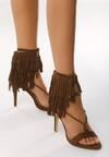 Brązowe Sandały Nair