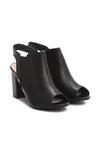 Czarne Sandały Enna