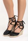 Czarne Sandały Catalina