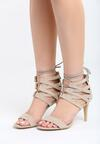 Beżowe Sandały Puerta