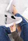 Szare Sneakersy Libra