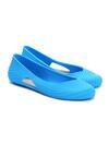 Niebieskie Baleriny Gina